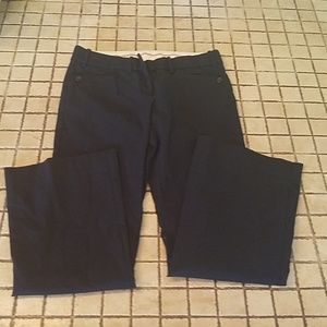 Dress pants with button pockets short